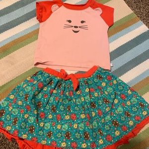 American Girl Wellie Wishers Little Girl Outfit